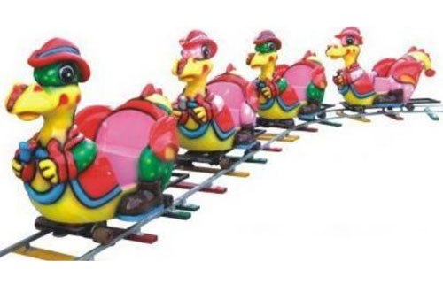 duck backyard track train rides prices