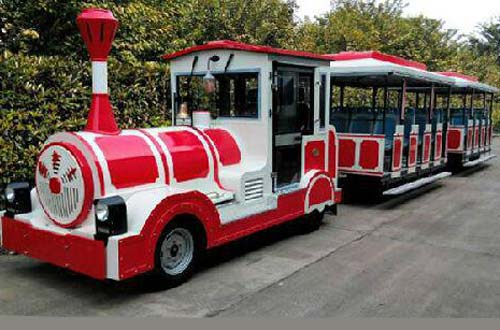 buy trackless train