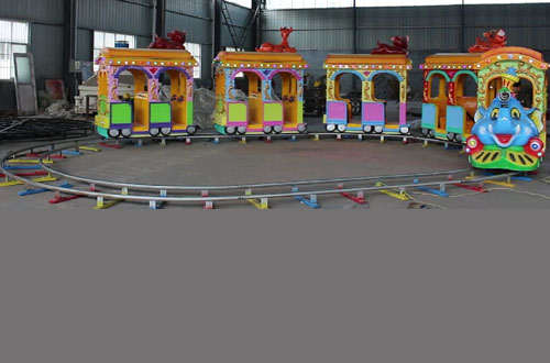 backyard track train amusement rides with best prices