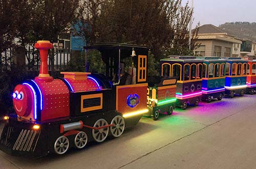BUY trackless mall train business