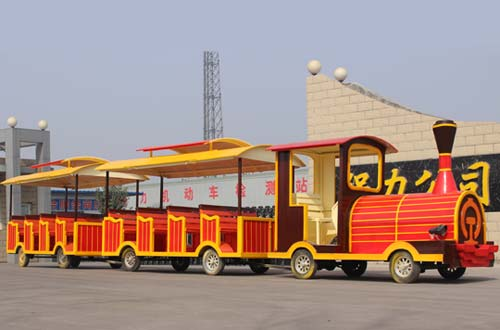 SOLID Wood Trackless Train for sale