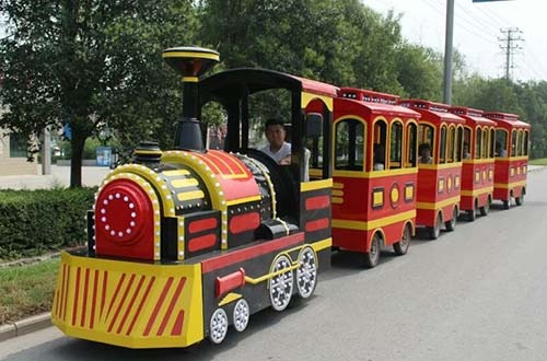 fiberglass trackless train body