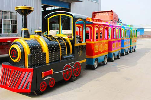 Beston Fiberglass Electric Trackless Train for Sale