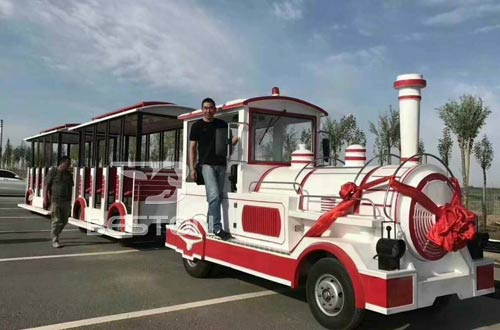 electric ride on train for kids
