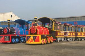 birthday party trackless train purchase cost