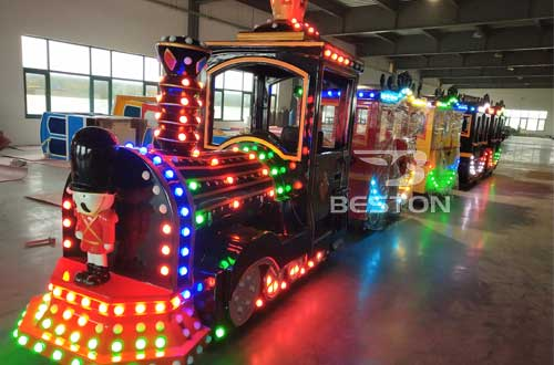 trackless train rides for kids birthday party