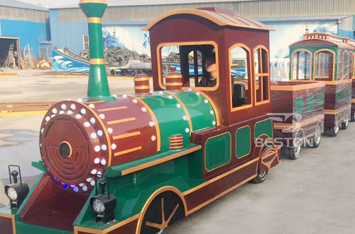 vintage mini train ride for sale