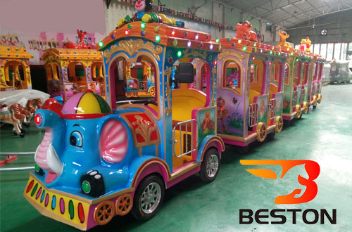 elephant small amusement park trains for sale