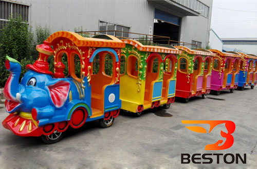 elephant rideable trains for sale