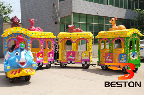 Beston elephant funfair train rides for sale